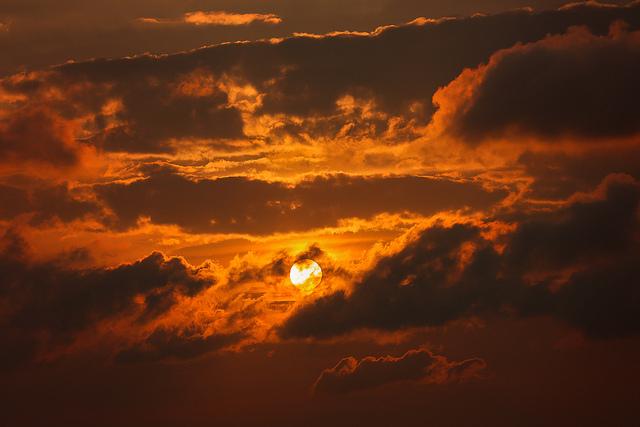 fiery sun medium