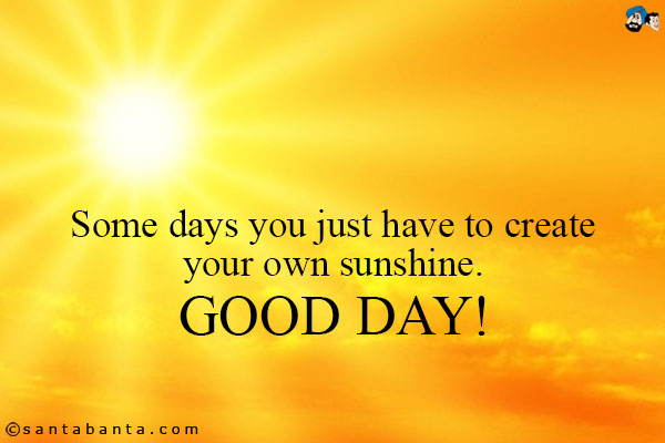good-day-sunshine